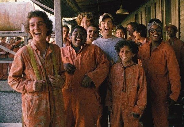 Die Jungs vom Camp Green Lake - von links, Stanley...tional