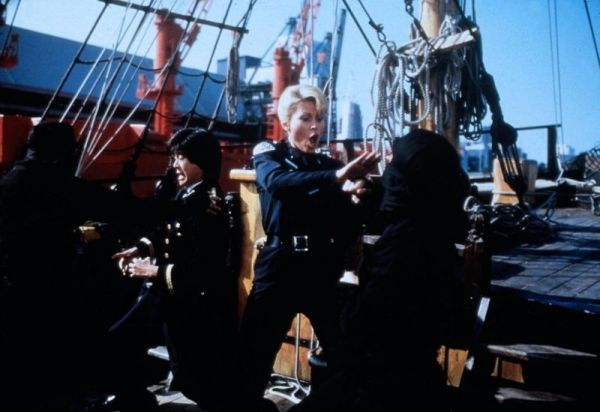 Leslie Easterbrook, Brian Tochi - 'Police Academy 4 -...rund'