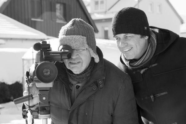 Und Äktschn! - GERHARD POLT (li.) und Regisseur...SCHN!
