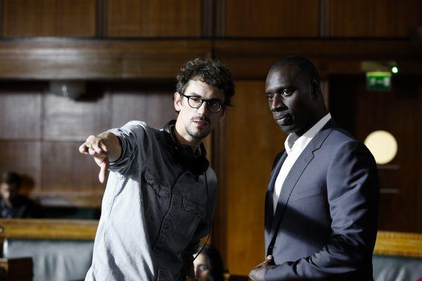 Plötzlich Papa! - Hugo Gélin (Regie) und Omar Sy ('Samuel')